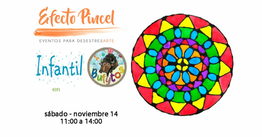 Efecto Pincel Infantil – Mandalas – Bufytos