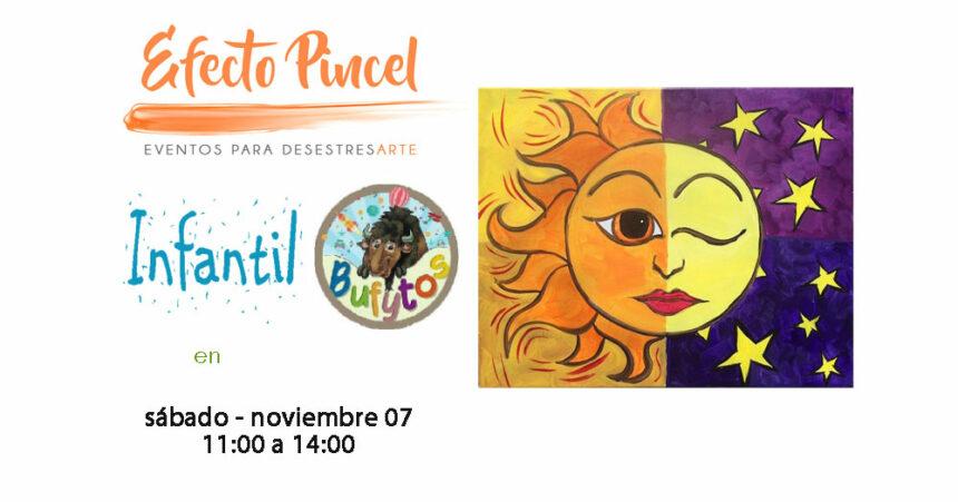 Efecto Pincel Infantil – Dia y Noche – Bufytos